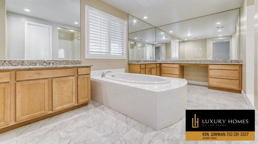 bath at Summerlin (Altura) Home for Sale, 12030 Vento Forte Av