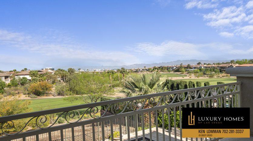 balcony view, 2104 Orchard Mist St, Las Vegas, NV 89135