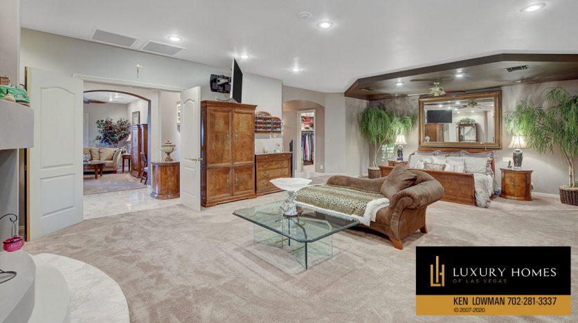 living room, South East Las Vegas Home for Sale, 3580 Five Pennies Lane