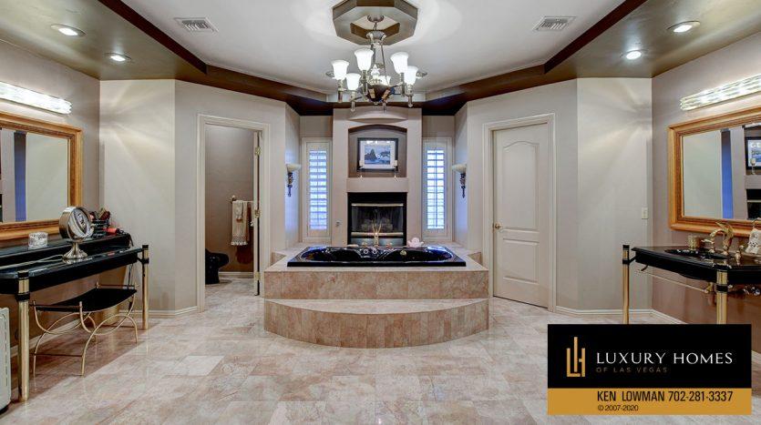 bath, South East Las Vegas Home for Sale, 3580 Five Pennies Lane