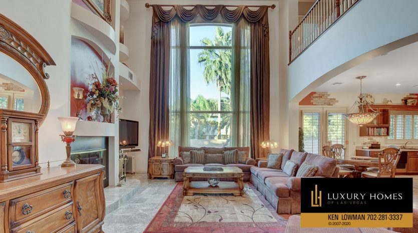 windiow view at South East Las Vegas Home for Sale, 3580 Five Pennies Lane