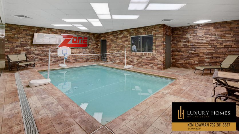 game pool at South East Las Vegas Home for Sale, 3580 Five Pennies Lane