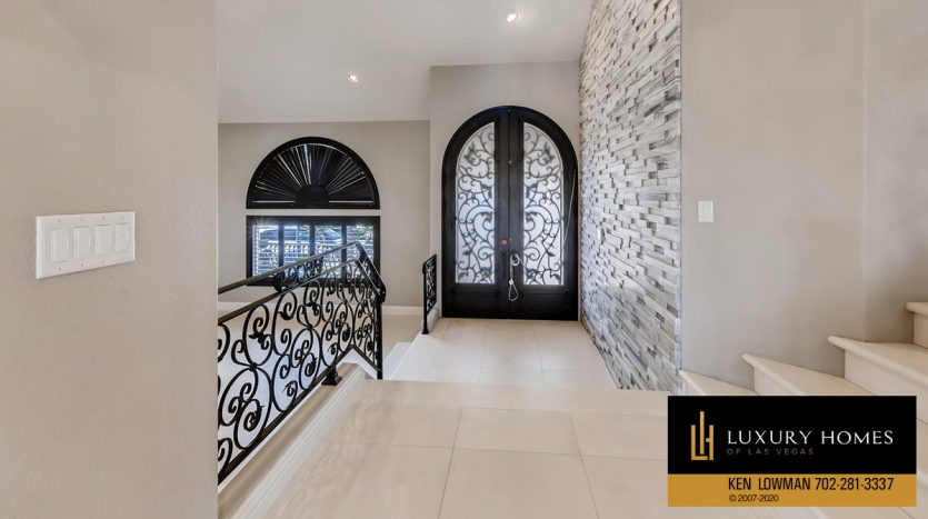 entrance walkway at 3626 Dutch Valley Drive, Las Vegas