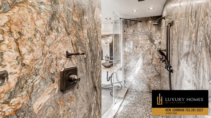 marble bath, South West Las Vegas Home for Sale, 3626 Dutch Valley Drive