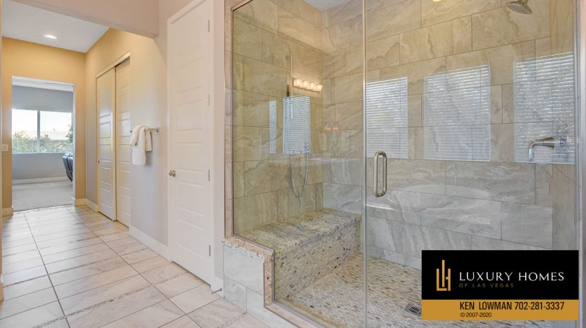 shower area at Brookshire Estates Home for Sale, 8224 Sweetwater Creek Way