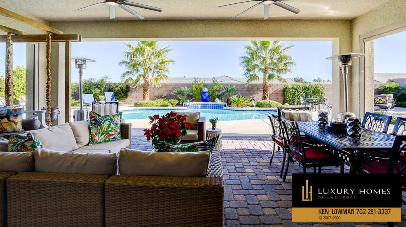 pool view at Brookshire Estates Home for Sale, 8224 Sweetwater Creek Way