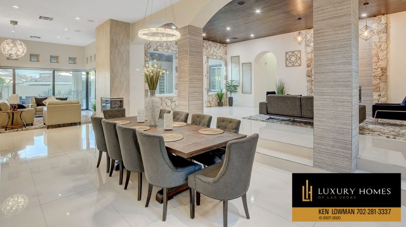 dining room at Canyon Fairways Home for Sale, 500 Royalton Dr