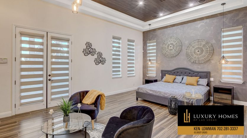 bedroom at Canyon Fairways Home for Sale, 500 Royalton Dr