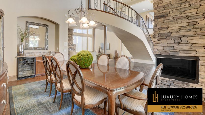 dining area at South West – Casablanca Estates Home for Sale, 2000 Bogart Ct