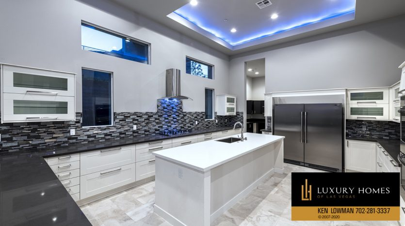 kitchen counter tops at The Ridges Home for Sale, 31 Drifting Shadow Way, Las Vegas, NV 89135