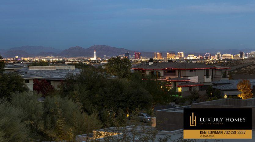 balcony view at 31 Drifting Shadow Way, Las Vegas, NV 89135