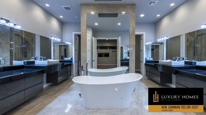 lavish bath at 31 Drifting Shadow Way, Las Vegas, NV 89135