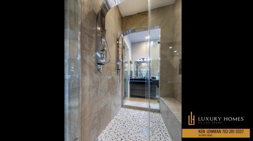 shower area at 31 Drifting Shadow Way, Las Vegas, NV 89135