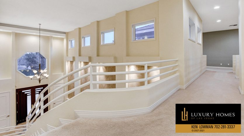 stairway at Canyon Fairways Home for Sale, 701 Canyon Greens Dr