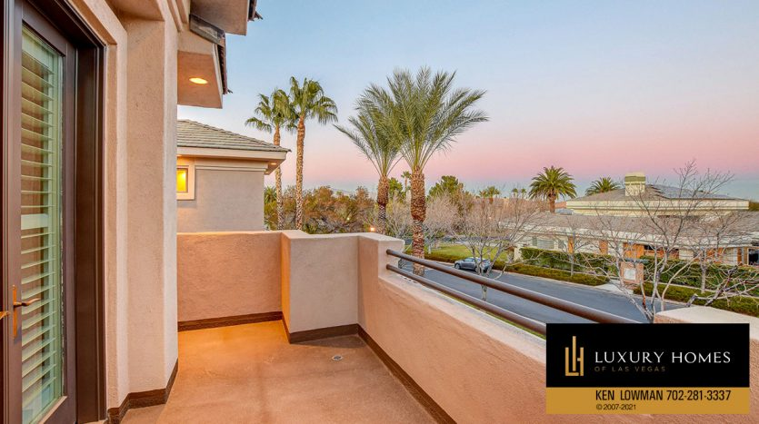 outdoor balcony view at Canyon Fairways Home for Sale, 701 Canyon Greens Dr