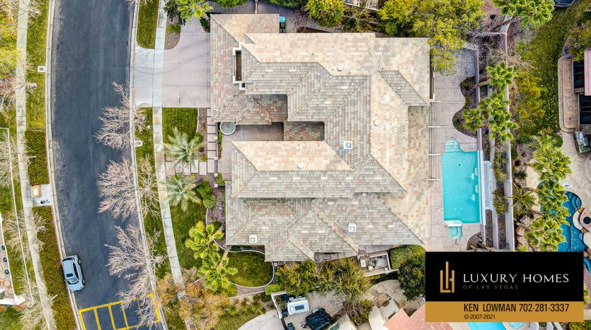 drone view at Canyon Fairways Home for Sale, 701 Canyon Greens Dr