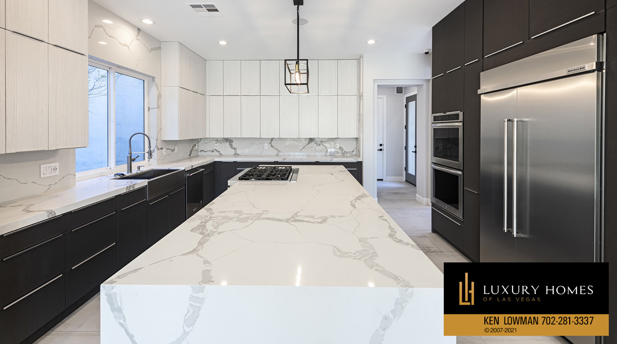 kitchen counters at Red Rock Country Club Home for Sale, 3329 Elk Clover St