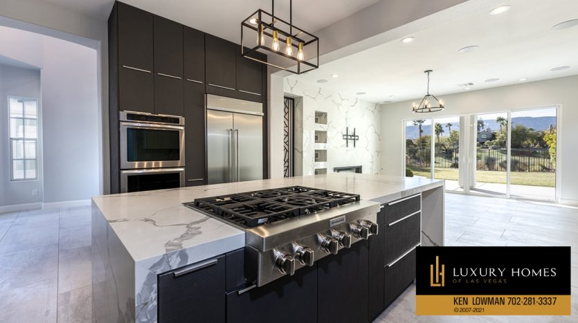 cooking range at Red Rock Country Club Home for Sale, 3329 Elk Clover St