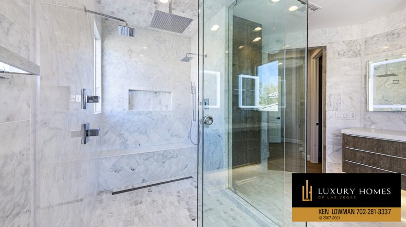 shower room at Red Rock Country Club Home for Sale, 3329 Elk Clover St
