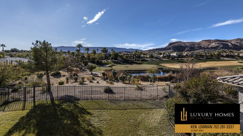 golf course view at Red Rock Country Club Home for Sale, 3329 Elk Clover St