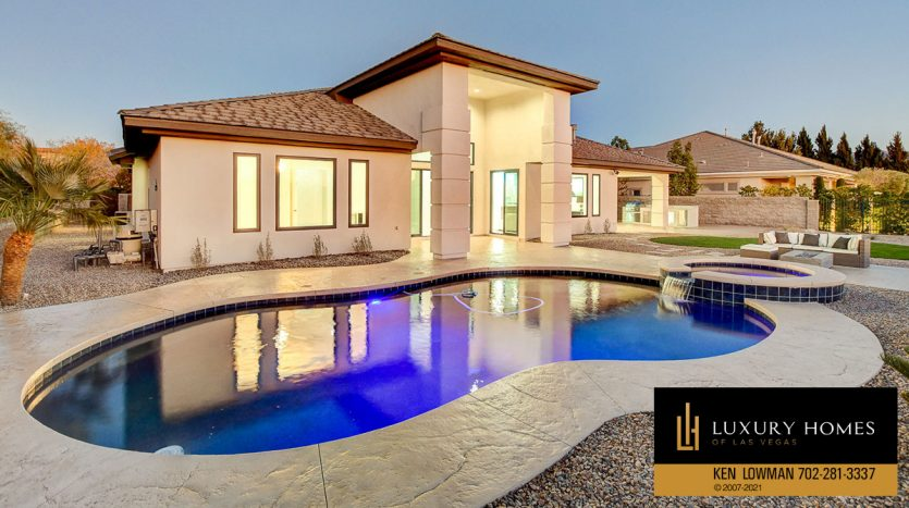 pool at Seven Hills Home for Sale, 1380 Ruby Sky Ct
