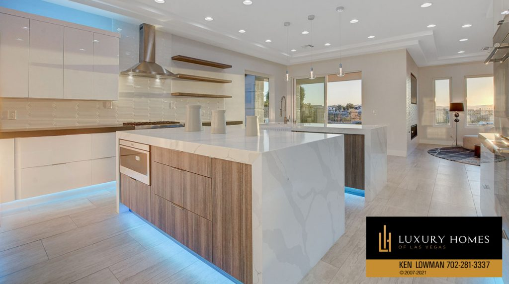 kitchen countertops at Seven Hills Home for Sale, 1380 Ruby Sky Ct