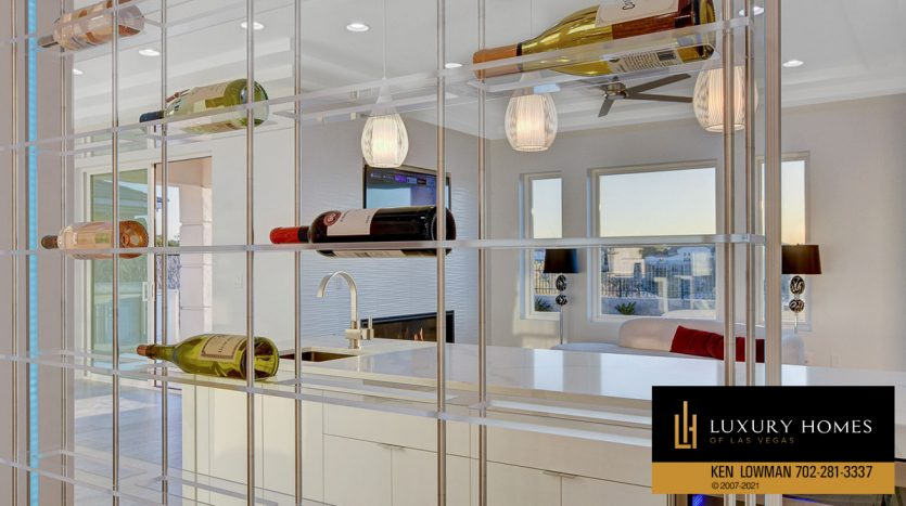 wine storage at Seven Hills Home for Sale, 1380 Ruby Sky Ct