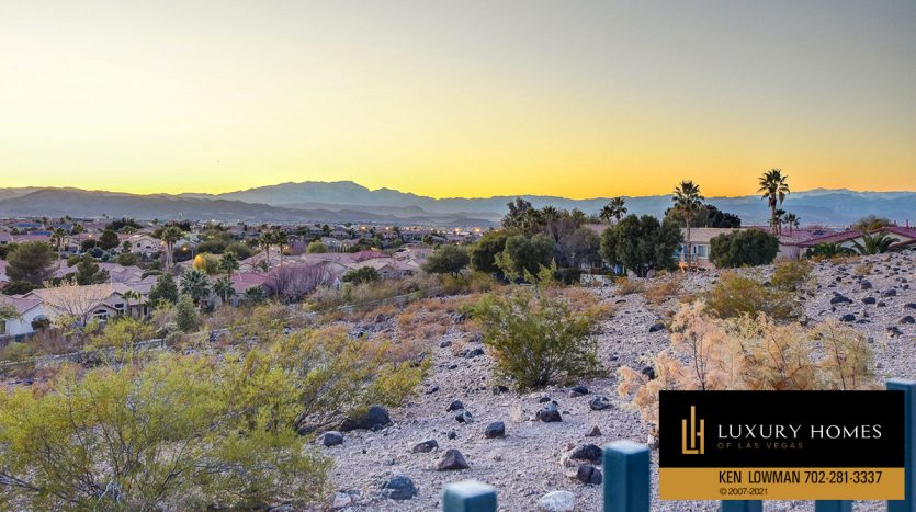desert view at Seven Hills Home for Sale, 1380 Ruby Sky Ct