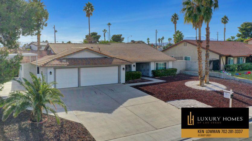 Southwest Las Vegas Home for Sale, 6663 Costa Brava Road