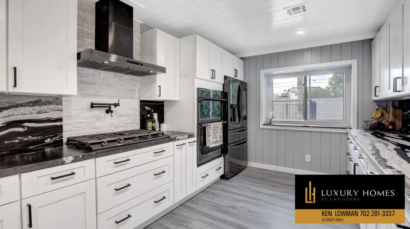cooking range at Southwest Las Vegas Home for Sale, 6663 Costa Brava Road