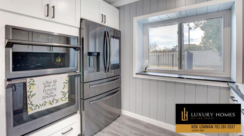kitchen at Southwest Las Vegas Home for Sale, 6663 Costa Brava Road