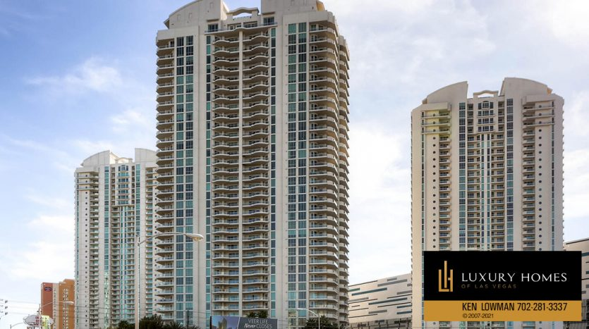 Turnberry Place Home for Sale, 2747 Paradise Rd #1606