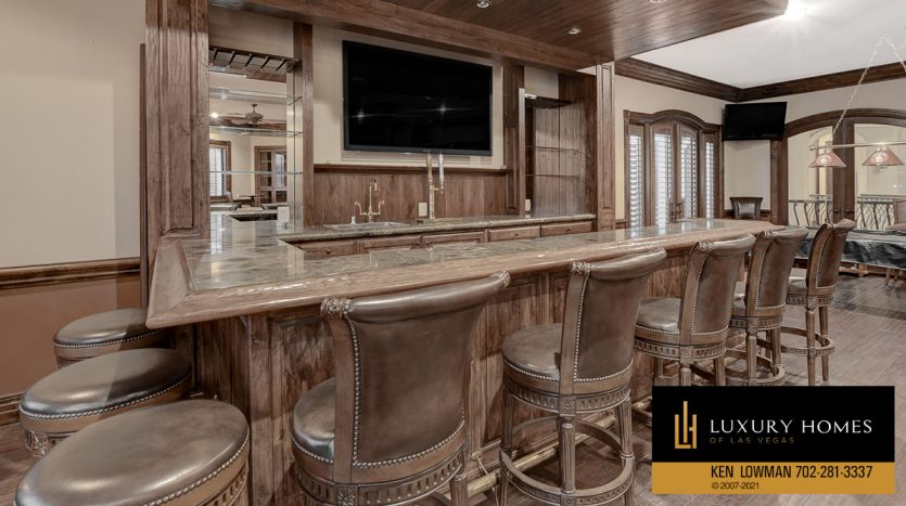 bar seats at Tuscany Home for Sale, 1363 Olivia Parkway