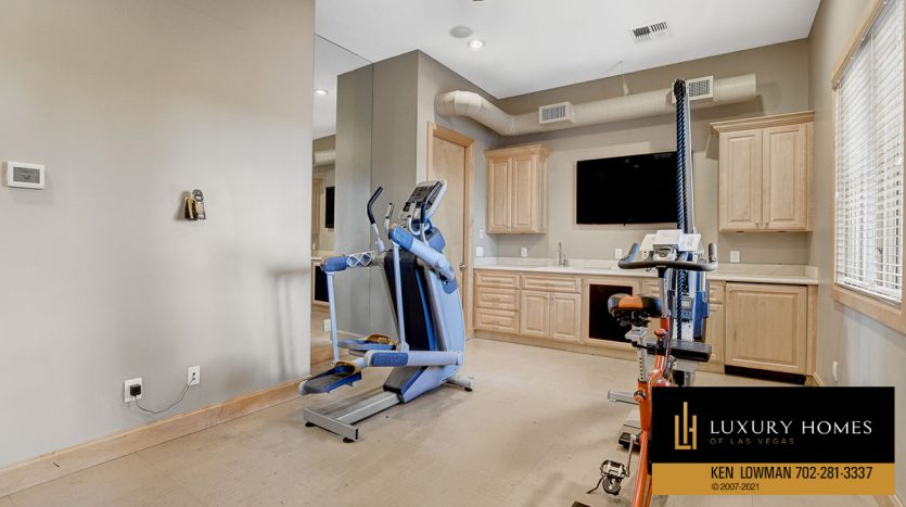 home gym at Tuscany Home for Sale, 1363 Olivia Parkway