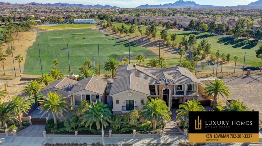 golf view at Tuscany Home for Sale, 1363 Olivia Parkway