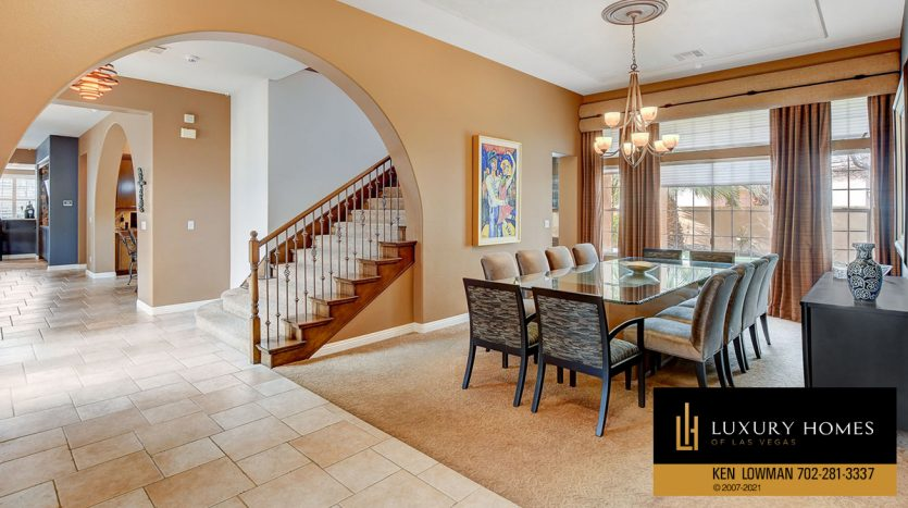 dining at Canyon Fairways Home for Sale, 9509 Balatta Canyon Ct