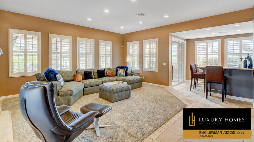 guest area at Canyon Fairways Home for Sale, 9509 Balatta Canyon Ct