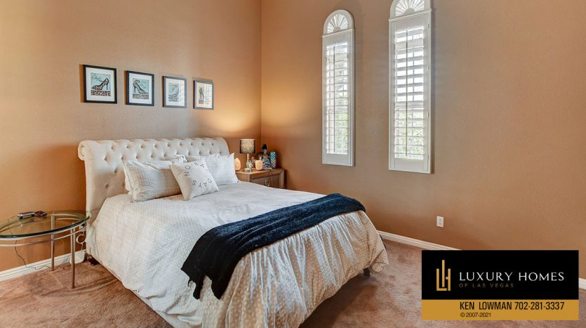 bedroom at Canyon Fairways Home for Sale, 9509 Balatta Canyon Ct