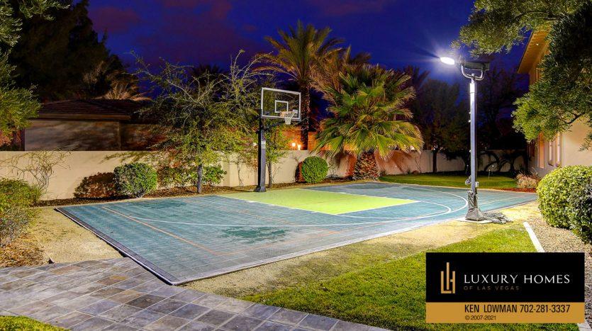 basketball court at Canyon Fairways Home for Sale, 9509 Balatta Canyon Ct