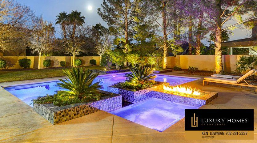 pool at Canyon Fairways Home for Sale, 9509 Balatta Canyon Ct