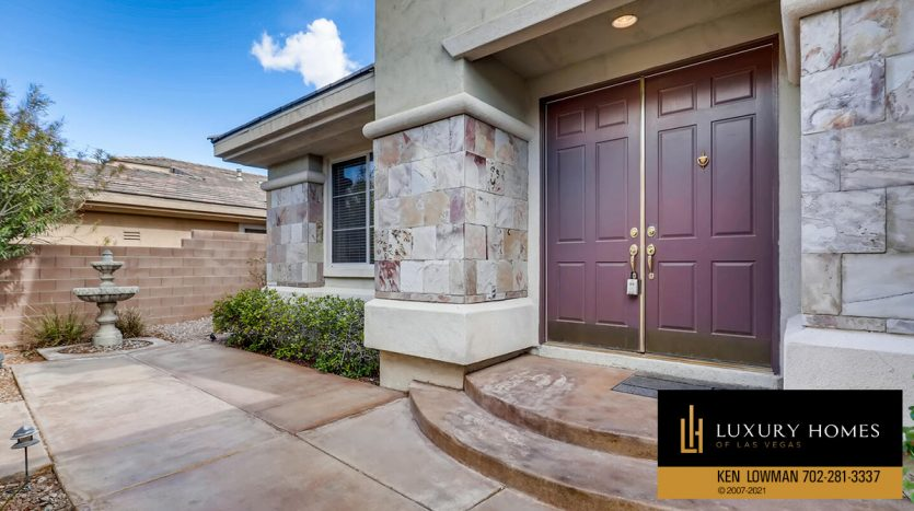 entrance to Eagle Rock at Summerlin Home for Sale, 508 Proud Eagle, Las Vegas, NV 89144