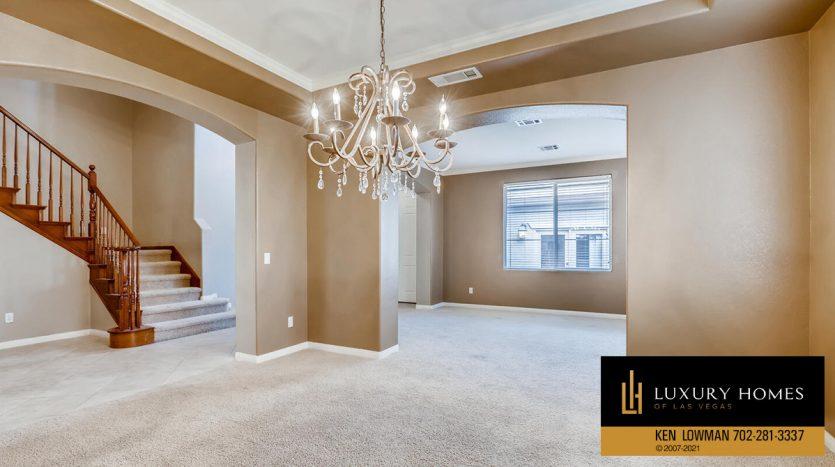 living room area at Eagle Rock at Summerlin Home for Sale, 508 Proud Eagle, Las Vegas, NV 89144