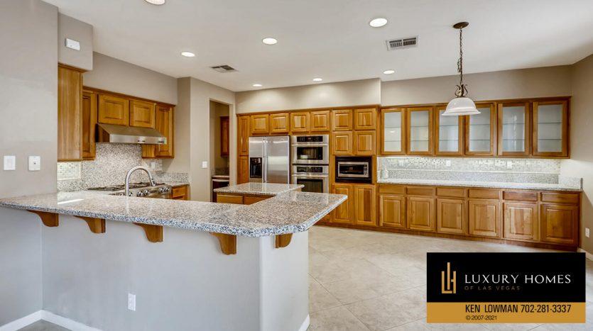 kitchen area at Eagle Rock at Summerlin Home for Sale, 508 Proud Eagle, Las Vegas, NV 89144