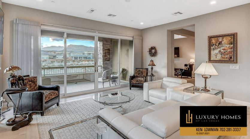 living room view at The Ridges Home for Sale, 11280 Granite Ridge #1059