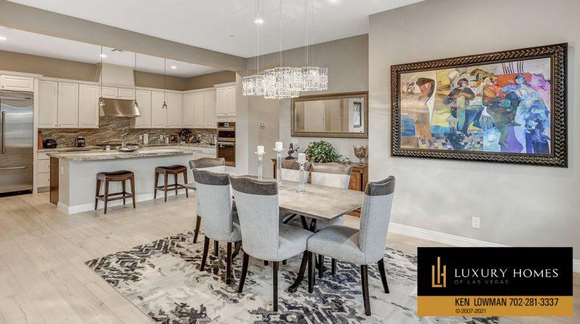 dining area at The Ridges Home for Sale, 11280 Granite Ridge #1059