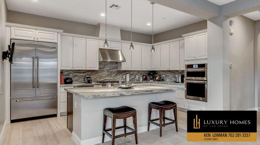 kitchen counter at The Ridges Home for Sale, 11280 Granite Ridge #1059