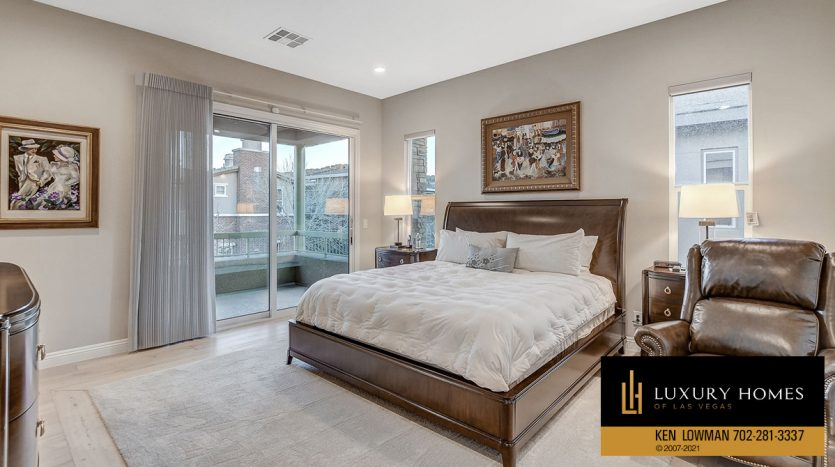 bedroom at The Ridges Home for Sale, 11280 Granite Ridge #1059