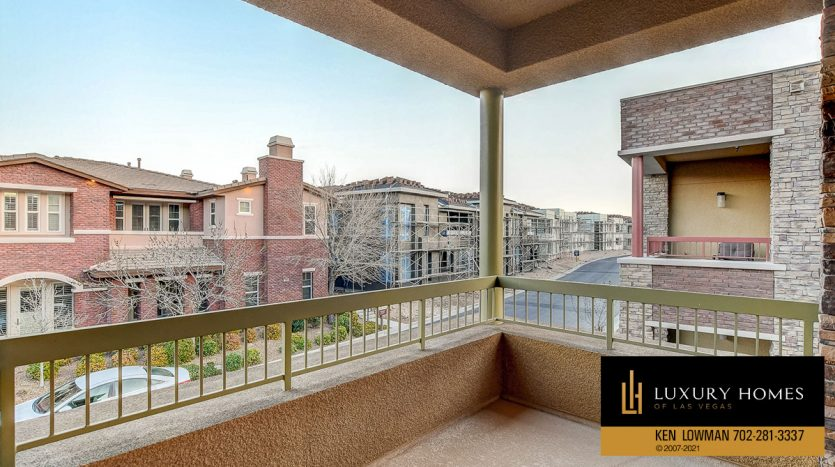 balcony view at The Ridges Home for Sale, 11280 Granite Ridge #1059