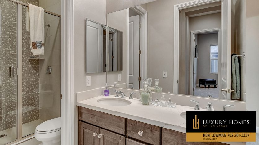 shower room at The Ridges Home for Sale, 11280 Granite Ridge #1059