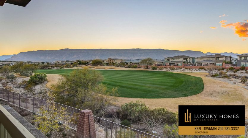 golf course view at The Ridges Home for Sale, 11280 Granite Ridge #1059